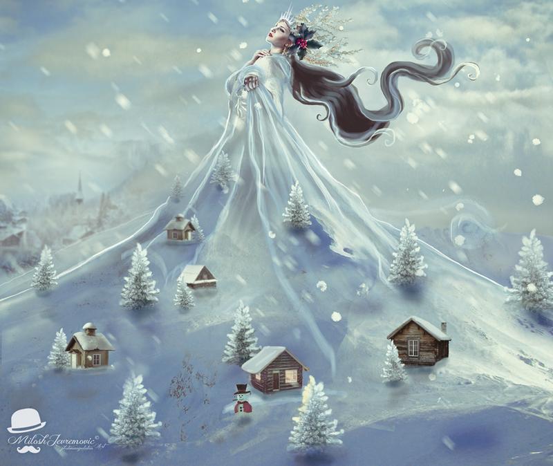 Snow Queen by MiloshJevremovic