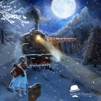 Polar Express by MiloshJevremovic