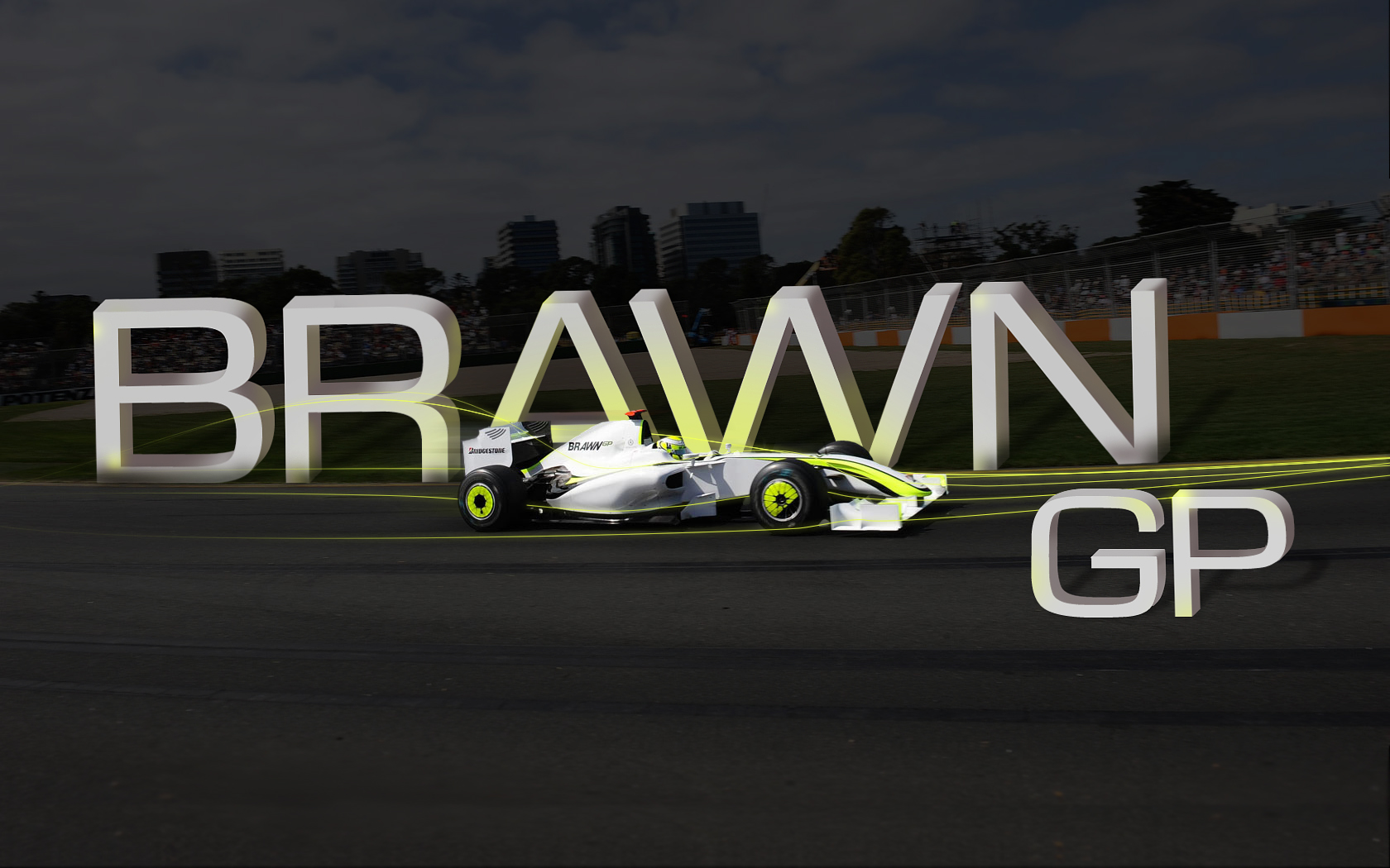 BrawnGP Wallpaper by brandonseaber