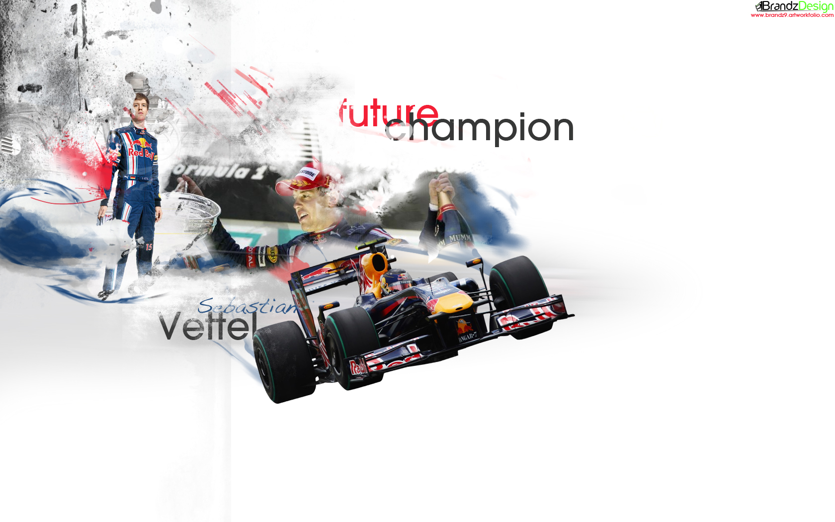 Sebastian Vettel Wallpaper by brandonseaber