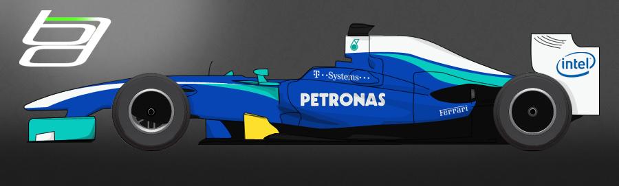F1 Sauber Livery by brandonseaber