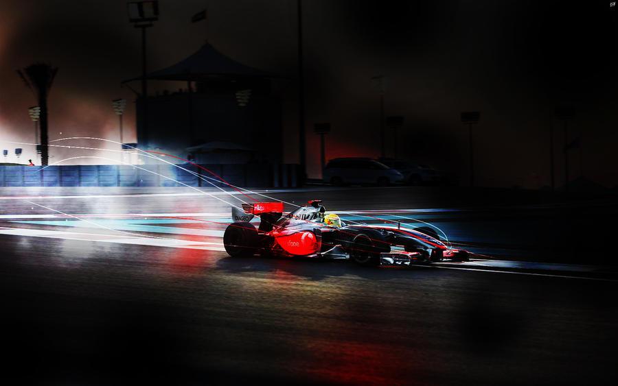 Lewis Hamilton Wallpaper by brandonseaber