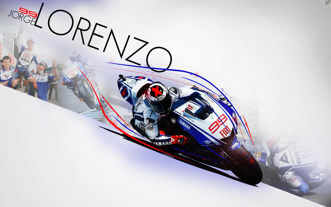 Jorge Lorenzo Wallpaper by brandonseaber