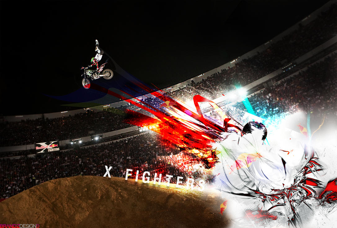 X Fighters WALLPAPER by brandonseaber
