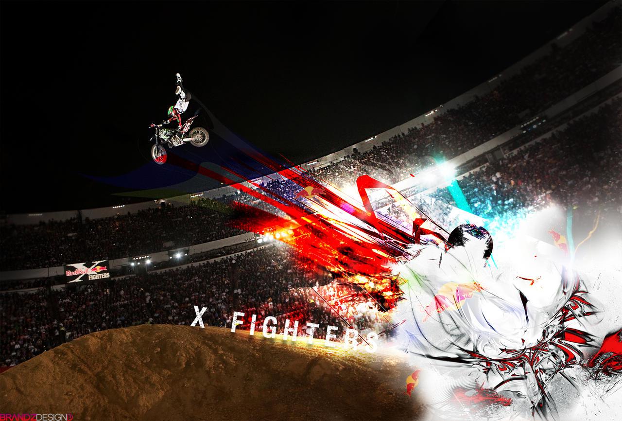 X Fighters WALLPAPER by brandonseaber