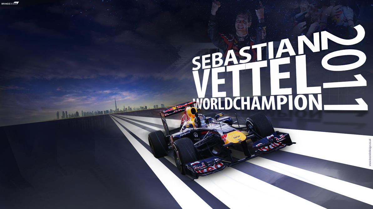2011 World Champion Vettel by brandonseaber