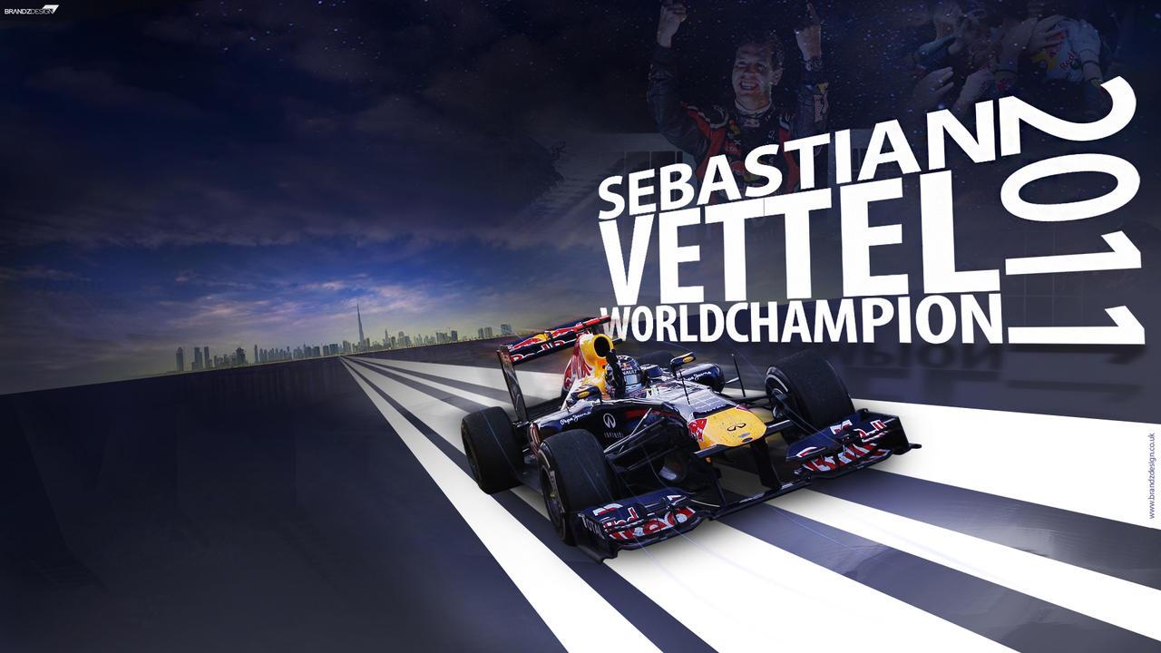 2011 World Champion Vettel by brandonseaber