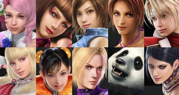 tekken 6 all female characters