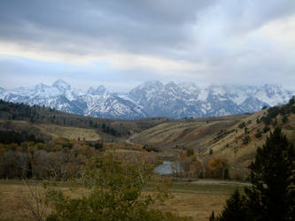 The Tetons by CI13