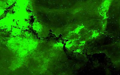 Green Alien by zwei2stein
