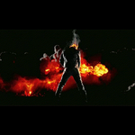 Ghost Rider Fire Pee by JOHNNEMO