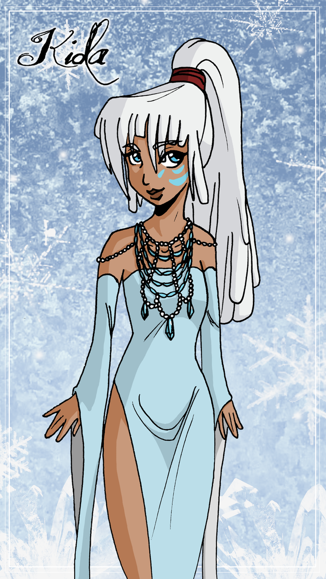 Princess Kida by mistressmariko