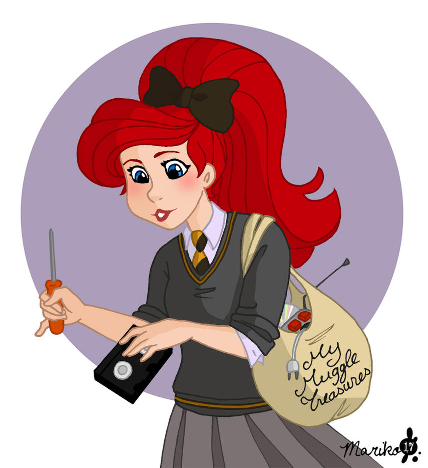 Ariel the Muggle Lover by mistressmariko