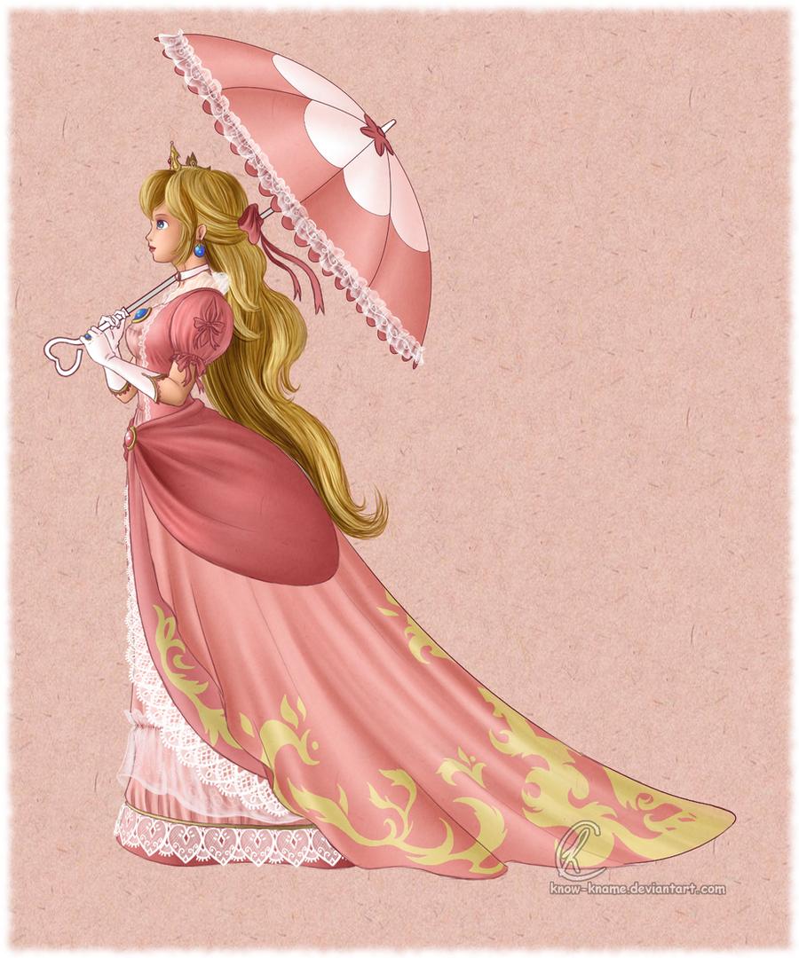 Princess Peach by Know-Kname
