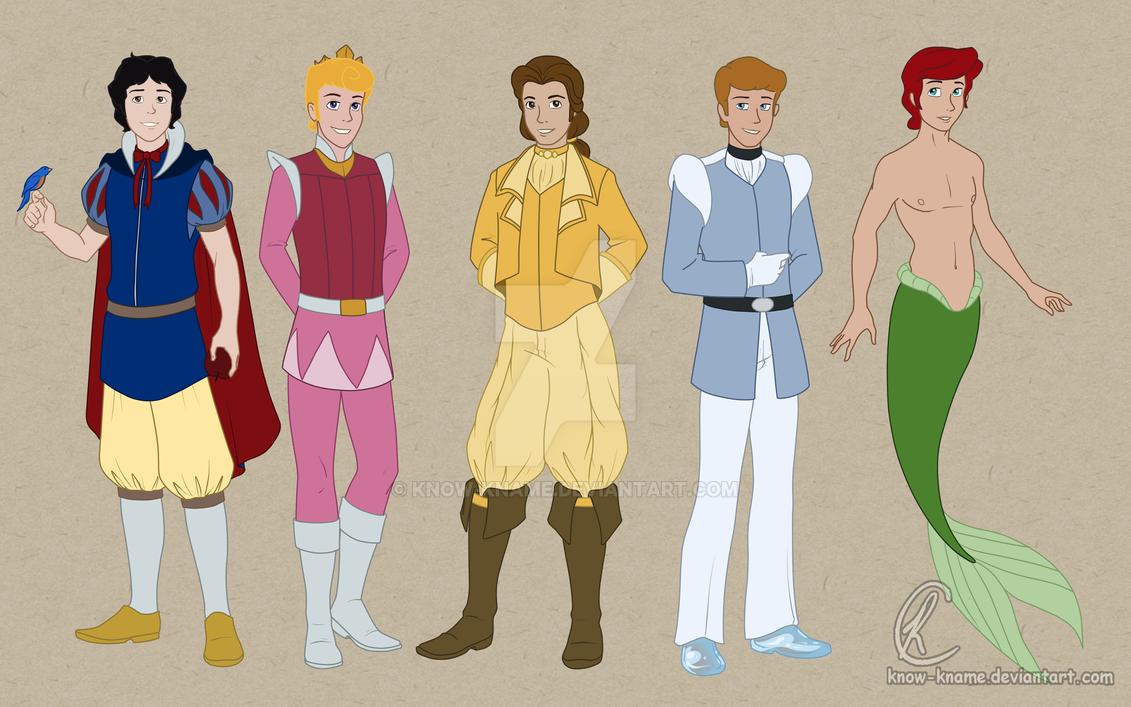 Disney Princes by Know-Kname