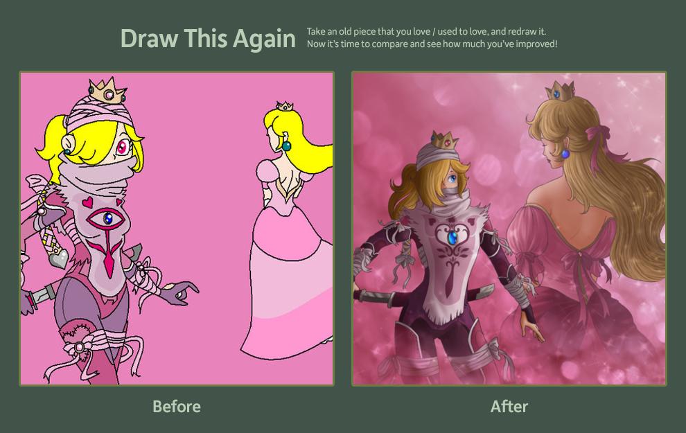 Draw this again- Peacheik by Know-Kname