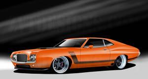 1972 Torino Gt 429 by zvtdesigns