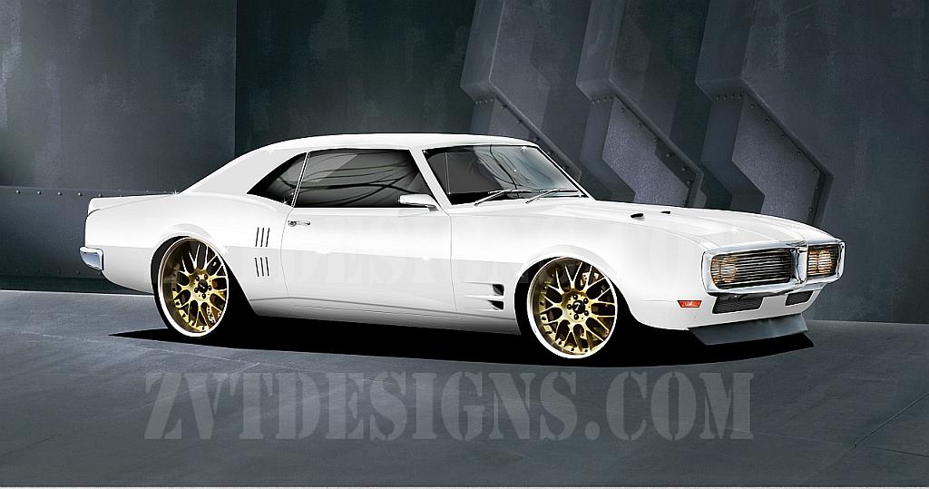 1968 Pontiac Firebird By Zvtdesigns ...