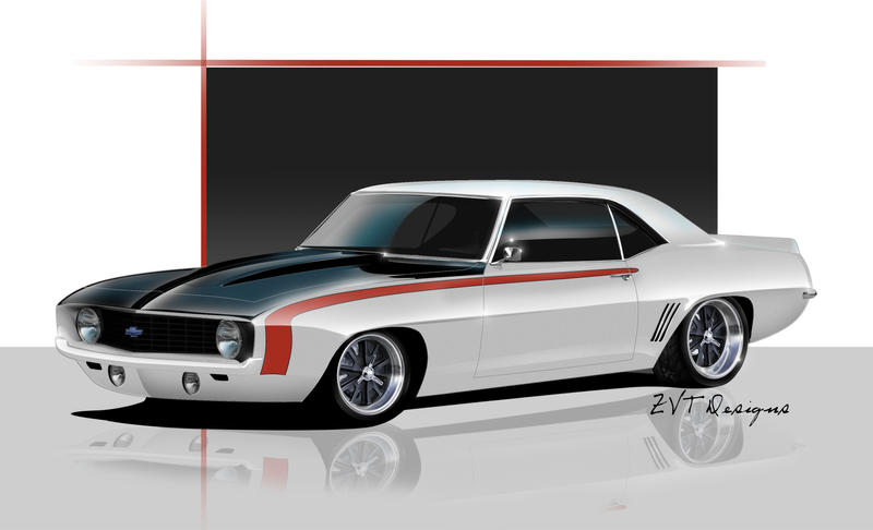 1969 Camaro Streetworks By Zvtdesigns On Deviantart