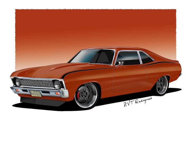 1970 Nova'NoGo' v2 by zvtdesigns