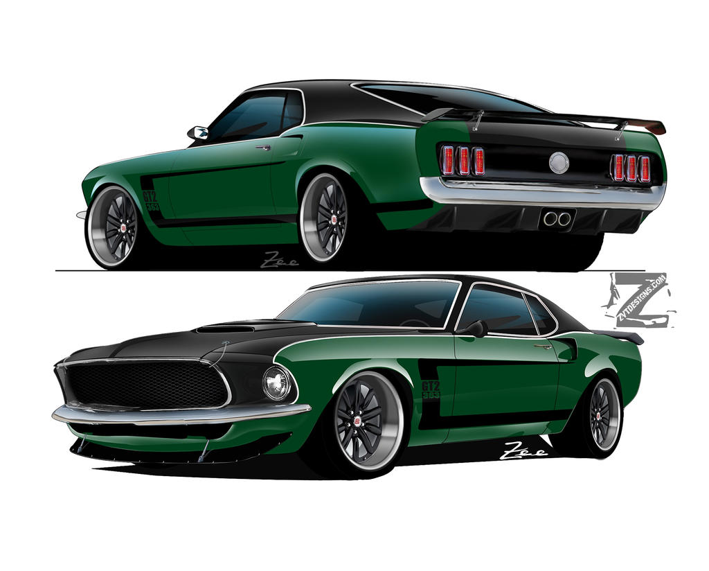 69 Mustang Gt2 363 Project By Zvtdesigns On Deviantart