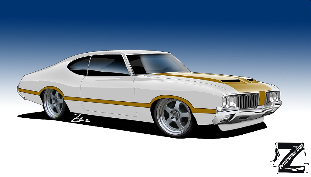OLDS 442 PRO TOURING by zvtdesigns