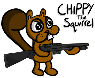 Chippy the Squirrel by Torrunt