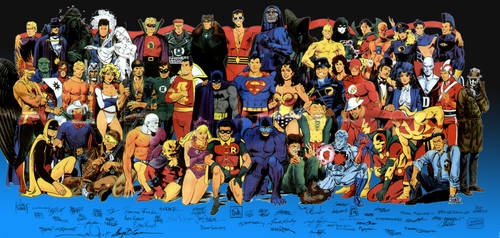 Marvel and DC Comics List favourites by asia-catdog-blue on DeviantArt