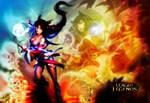 League of Legends  Ahri   wallpaper