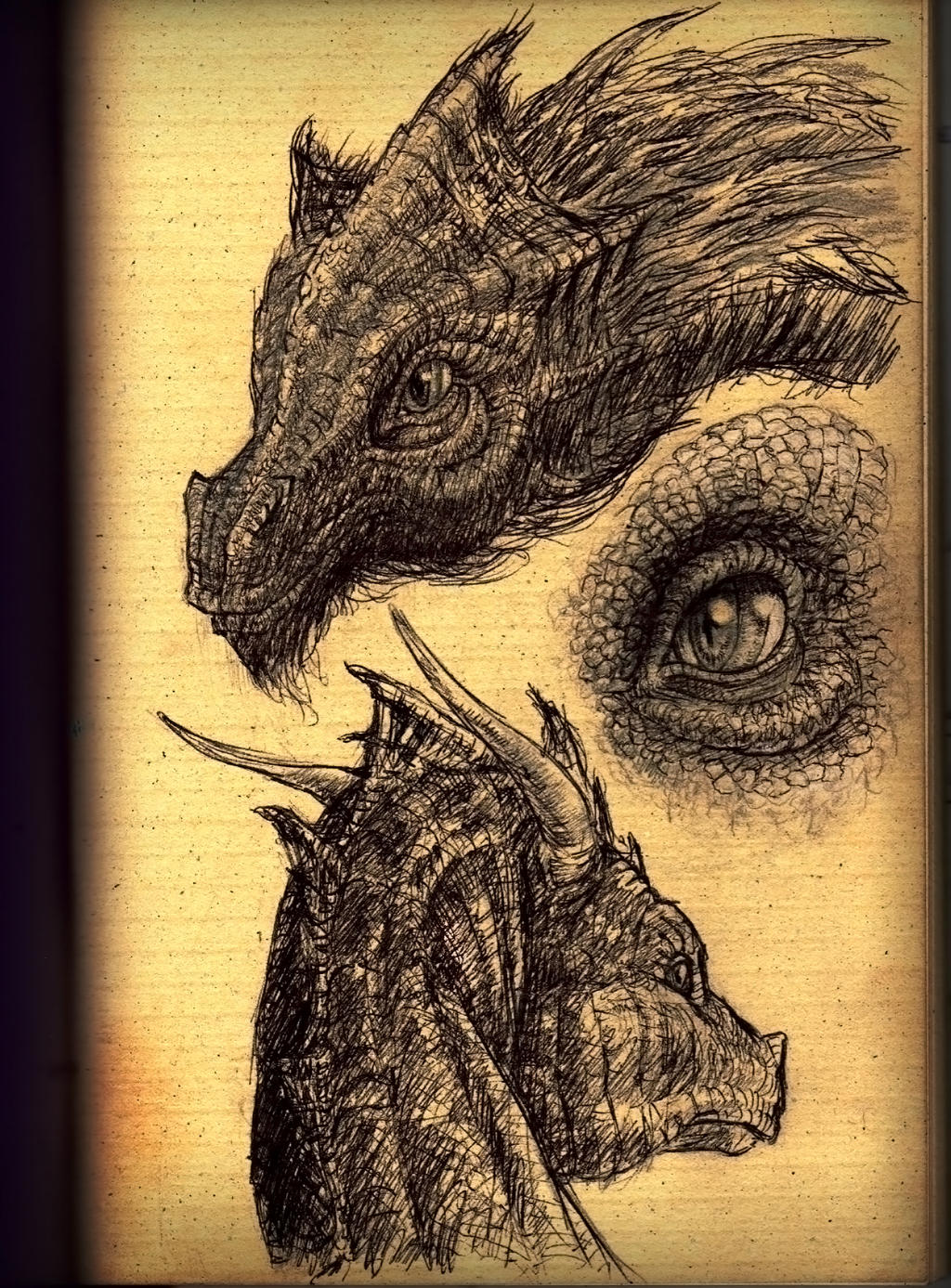 Dragon's Eye by hellmancrow