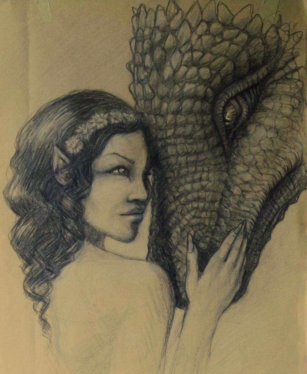 Dragon's Lady by hellmancrow
