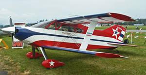 Patriotic Stuntplane