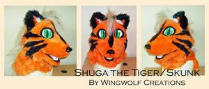 Shuga the Tiger/Skunk