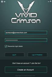 Game Client Login Screen