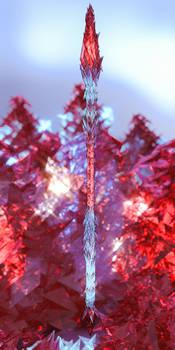 Blood Crystal Spear