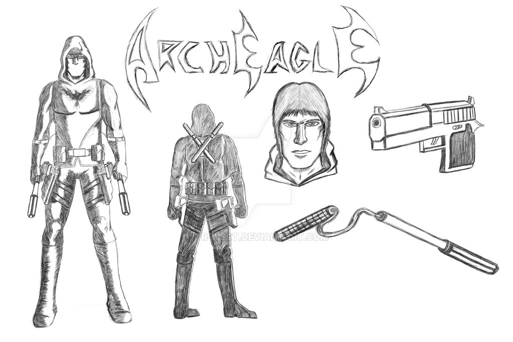 Arch Eagle Design Sheet by TR-West