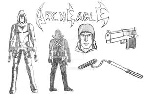 Arch Eagle Design Sheet