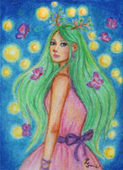 ACEO - Tohea by VanilleNoire