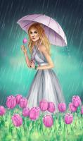Spring shower by VanilleNoire
