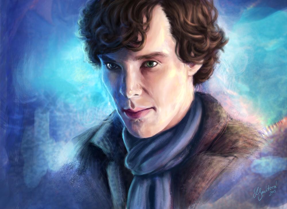 Sherlock Holmes by VanilleNoire