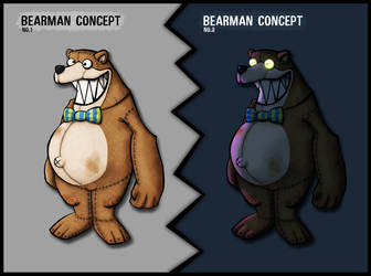 BearMan - Concept by MorffinCreations
