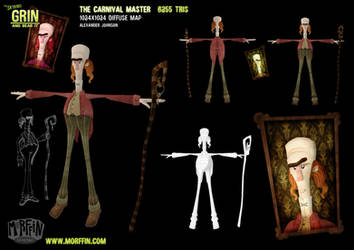 The Carnival Master by MorffinCreations
