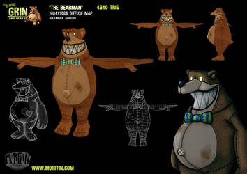 The Bearman by MorffinCreations