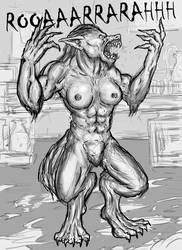 Bannister's Beast 05 by SavageFleshTF