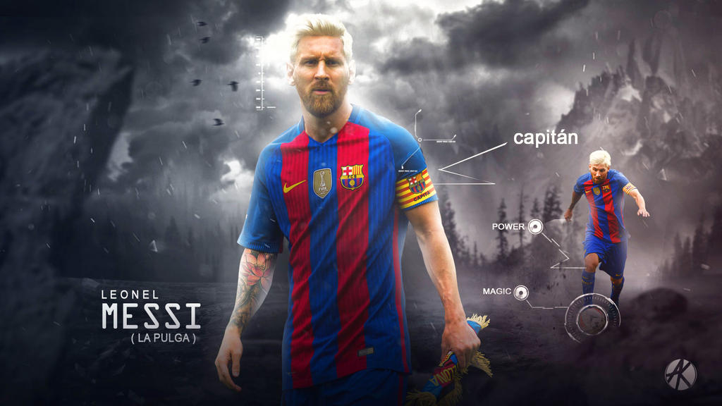 Lionel Messi Wallpaper FC Barcelona 2016 17 By Ghanibvb