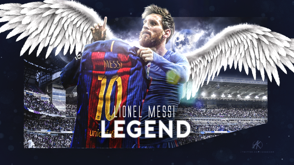 Lionel Messi Wallpaper FC Barcelona 2016 17 By Ghanibvb