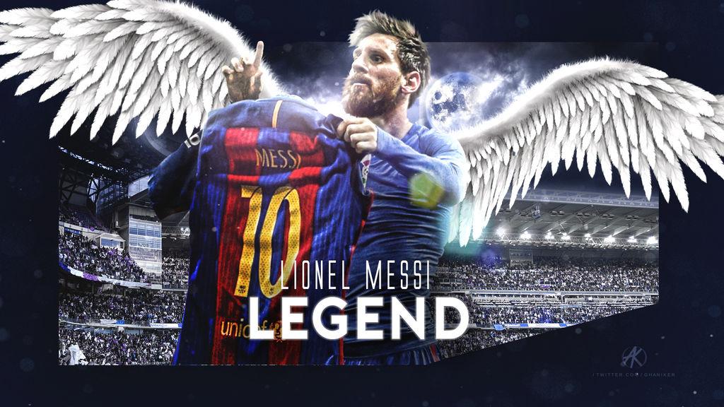 Lionel Messi wallpaper (FC Barcelona) 2016/17 by Ghanibvb ...