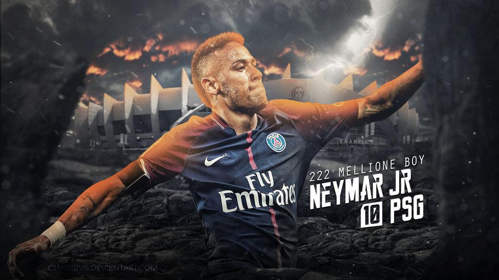 Neymar Jr Wallpaper (PSG) 2017/18 By Ghanibvb On DeviantArt
