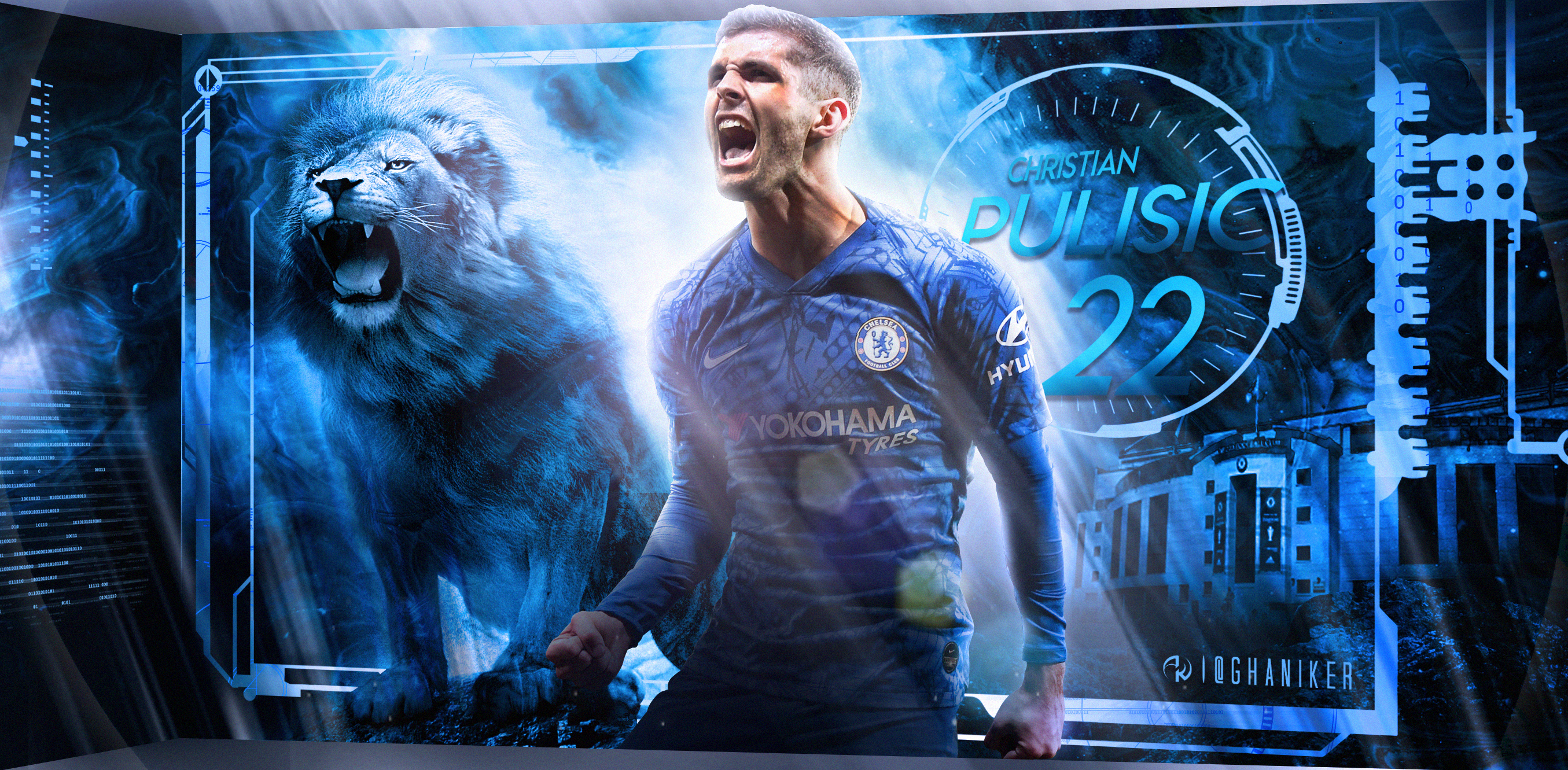 Christian Pulisic Wallpaper Chelsea FC 2019 20 By Ghanibvb