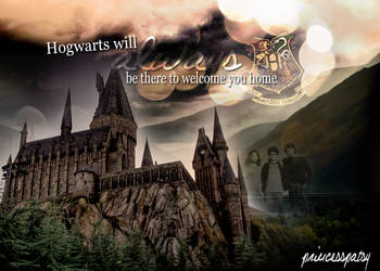 Hogwarts will always be there to welcome you home. by PrincessPatsy